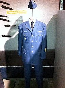About vintage air force uniform