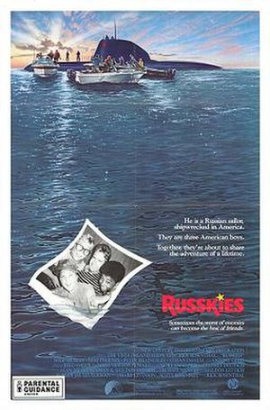 Russkies - Theatrical release poster