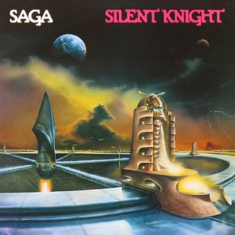 Silent Knight (album) - Image: Saga silent knight