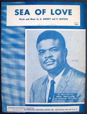 Sea of Love (song) - Image: Sea of Love sheet music cover