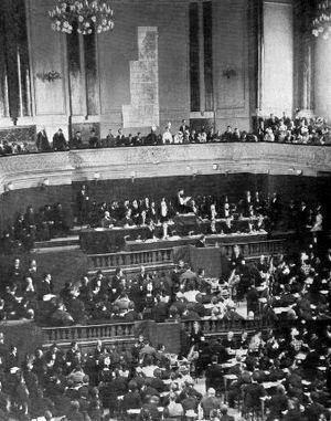 World Zionist Congress - The Second Zionist Congress, held in Basel, Switzerland (1898).