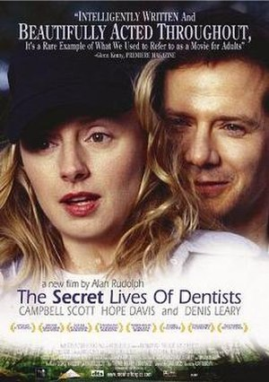 The Secret Lives of Dentists - Theatrical release poster