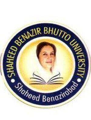 Shaheed Benazir Bhutto University, Shaheed Benazirabad - Image: Shaheed Benazir Bhutto University (Shaheed Benazirabad) logo