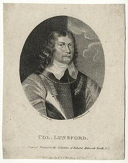 Thomas Lunsford Cavalier