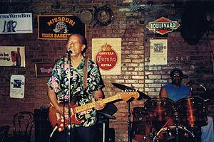 Kansas City blues - Kansas City blues guitarist Sonny Kenner: Photo provided by Adam Blue Productions