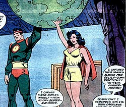 Statues of the Silver Age Jor-El and Lara.jpg