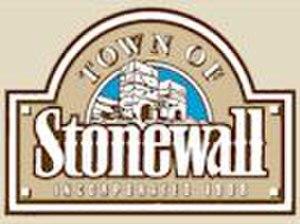 Stonewall, Manitoba - Image: Stonewall MB logo