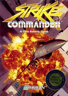 <i>Strike Commander</i> video game