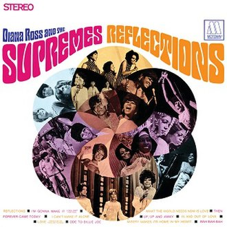 Reflections (The Supremes album) - Image: Supremes 1968 reflections