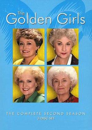 The Golden Girls (season 2) - Season 2 DVD Cover