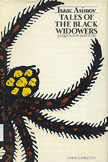 <i>Tales of the Black Widowers</i> book by Isaac Asimov