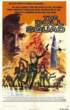 The Doll Squad - Original film poster