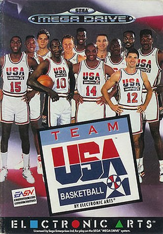 Team USA Basketball (video game) - Image: Team USA Basketball