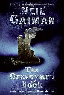 <i>The Graveyard Book</i> novel by Neil Gaiman