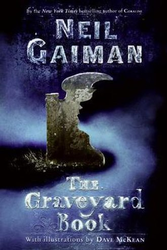 The Graveyard Book - Front cover of first Adult's Edition