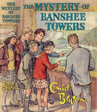 The Mystery of Banshee Towers - First edition cover