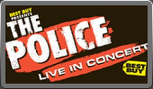 The Police Reunion Tour - Image: The Police Reunion Tour Poster