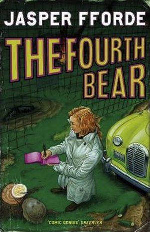 The Fourth Bear - UK Hardback Cover