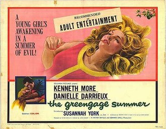 The Greengage Summer - Movie poster
