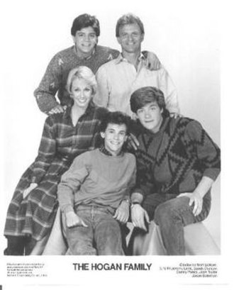 The Hogan Family - The cast of The Hogan Family with the inclusion of Sandy Duncan