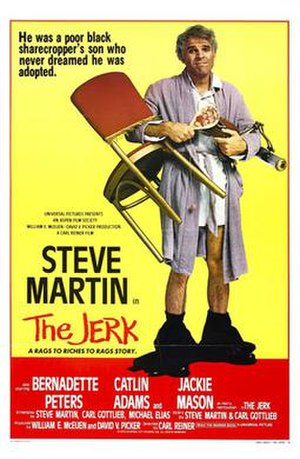 The Jerk - Theatrical release poster