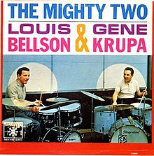 Louis Bellson Gene Krupa The Mighty Two