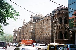 The North side view of the Moth Ki Masjid.JPG