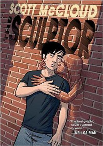 The Sculptor (comics) - Image: The Sculptor, cover illustrated by Scott Mc Cloud