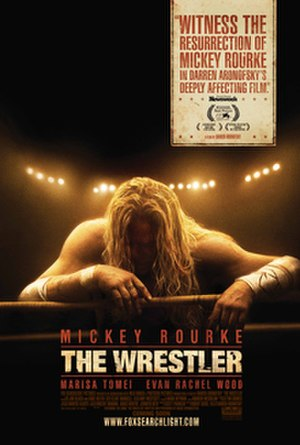 The Wrestler (2008 film) - Theatrical release poster.