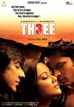 Three: Love, Lies, Betrayal - Theatrical Poster