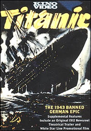Titanic (1943 film) - DVD cover based on the original film poster
