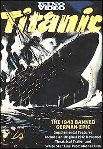 Titanic (1943 film) - DVD cover based on the original film poster