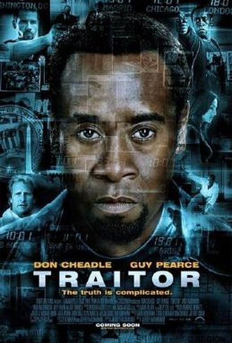 Traitor (film) - Theatrical release poster
