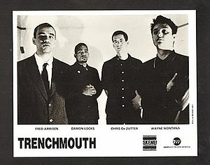 Trenchmouth - Trenchmouth, from left to right: Armisen, Locks, DeZutter, Montana