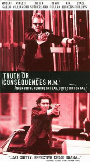 Truth or Consequences, N.M. (film) - Theatrical release poster