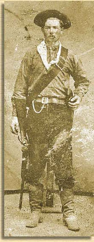 History of the Texas Ranger Division - Image: Txrangercallicot