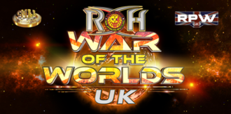 War of the Worlds UK - Promotional poster for the tour