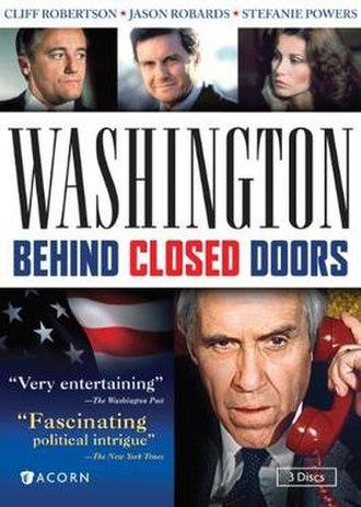 Washington: Behind Closed Doors - 3-disc DVD cover