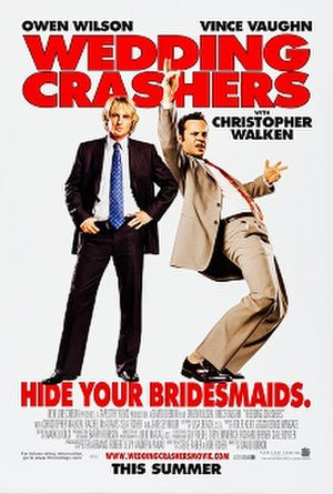 Wedding Crashers - Theatrical release poster