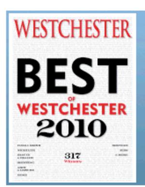 Westchester Magazine - 2010 issue of Best Of