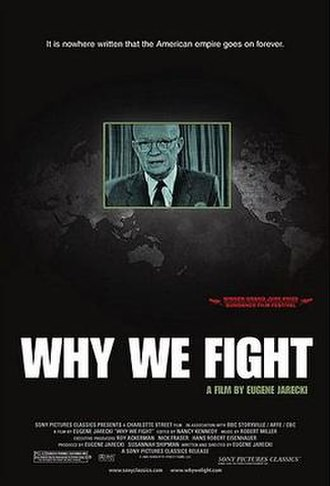 Why We Fight (2005 film) - Theatrical poster