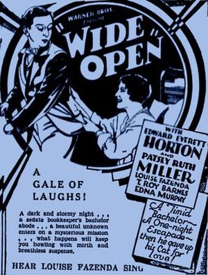 Wide Open (film) - Image: Wide Open 1930Poster