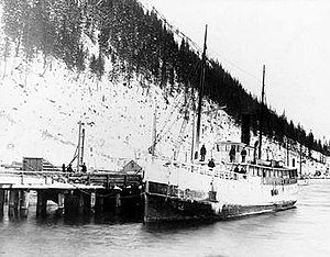 General Miles - Willapa at Juneau, Alaska, March 1897