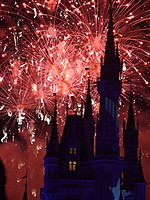 Wishes is the largest fireworks show ever presented at the Magic Kingdom