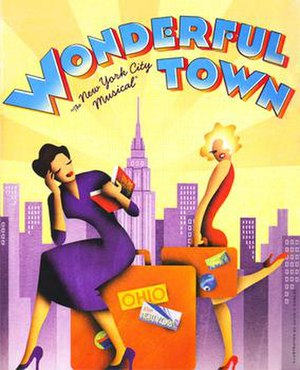 Wonderful Town - Poster for the 2003 revival