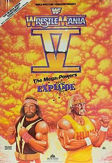 Image result for WWF Wrestlemania V