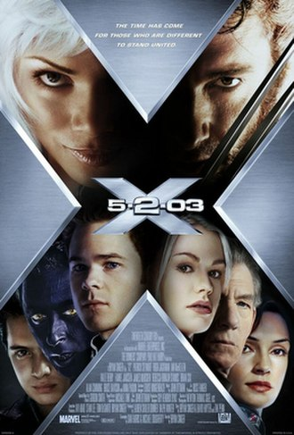 X2 (film) - Theatrical release poster