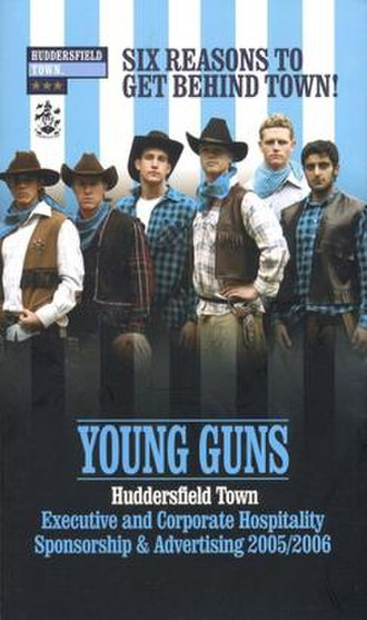 2005–06 Huddersfield Town A.F.C. season - Controversial 'Young Guns' campaign