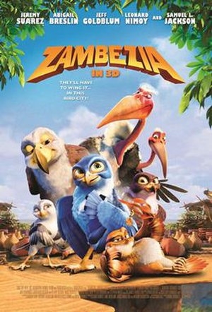 Zambezia (film) - South African theatrical release film poster