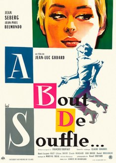 <i>Breathless</i> (1960 film) 1960 French film by Jean-Luc Godard